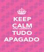 KEEP CALM AND JEREMIAS TUDO APAGADO - Personalised Poster A1 size