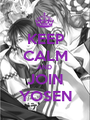 KEEP CALM AND  JOIN YOSEN - Personalised Poster A1 size