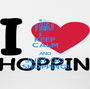 KEEP CALM AND JUST GO SHOPPING! - Personalised Poster A1 size