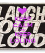 KEEP CALM AND KEEP LOLING - Personalised Poster A1 size