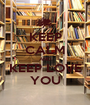 KEEP CALM AND KEEP LOVE YOU - Personalised Poster A1 size
