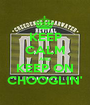 KEEP CALM AND KEEP ON CHOOGLIN' - Personalised Poster A1 size