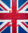 KEEP CALM AND Kill William  - Personalised Poster A1 size