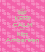 KEEP CALM AND kiss Ambareen - Personalised Poster A1 size