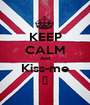 KEEP CALM And Kiss-me ♥ - Personalised Poster A1 size