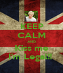 KEEP CALM AND Kiss me I'm Legal!!  - Personalised Poster A1 size