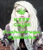 KEEP CALM AND Kochamfrugo itymbarka - Personalised Poster A1 size