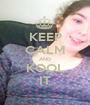KEEP CALM AND KOOL IT - Personalised Poster A1 size