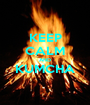 KEEP CALM AND KUMCHA  - Personalised Poster A1 size