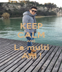 KEEP CALM AND La multi Ani ! - Personalised Poster A1 size