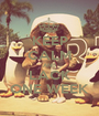 KEEP CALM AND LACK ONE WEEK - Personalised Poster A1 size