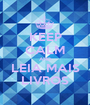 KEEP CALM AND LEIA MAIS LIVROS - Personalised Poster A1 size