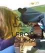 KEEP CALM AND LERON ROLIMA - Personalised Poster A1 size