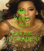 KEEP CALM AND LET ME UPGRADE U - Personalised Poster A1 size