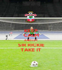 KEEP CALM AND LET SIR RICKIE TAKE IT - Personalised Poster A1 size