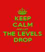 KEEP CALM AND LET THE LEVELS DROP - Personalised Poster A1 size