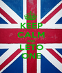 KEEP CALM AND LETO ONE - Personalised Poster A1 size