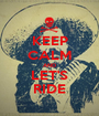 KEEP CALM AND LET'S RIDE - Personalised Poster A1 size