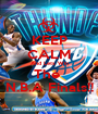 KEEP CALM And Lets Win The  N.B.A Finals!! - Personalised Poster A1 size