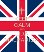 KEEP CALM AND LIDA MALPARIDA  - Personalised Poster A1 size