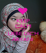 KEEP CALM AND LIEBE DICH ARYANI  - Personalised Poster A1 size