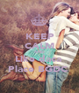KEEP CALM AND Like daca  Place BGDC  - Personalised Poster A1 size