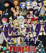 KEEP CALM AND LIKE FOR  FAIRY TAIL - Personalised Poster A1 size
