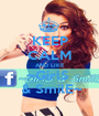 KEEP CALM AND LIKE ~GirlS   & SmilE~ - Personalised Poster A1 size