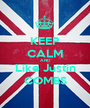 KEEP CALM AND Like Justin COMBS - Personalised Poster A1 size
