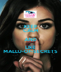 KEEP CALM AND LIKE MALLU-OF-SECRETS - Personalised Poster A1 size