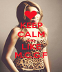 KEEP CALM AND LIKE M.C.G.F - Personalised Poster A1 size