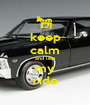 keep calm and like my ride - Personalised Poster A1 size
