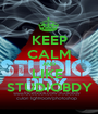 KEEP CALM AND LIKE  STUDIOBDY - Personalised Poster A1 size