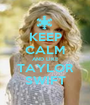 KEEP CALM AND LIKE TAYLOR SWIFT - Personalised Poster A1 size