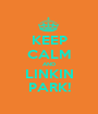 KEEP CALM AND LINKIN PARK! - Personalised Poster A1 size