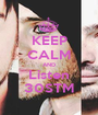 KEEP CALM AND Listen 30STM - Personalised Poster A1 size