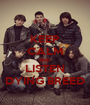 KEEP CALM AND LISTEN DYING BREED - Personalised Poster A1 size