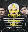 KEEP CALM AND LIsten MRC - Personalised Poster A1 size