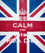 KEEP CALM AND listen ROA D-aia - Personalised Poster A1 size