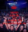 KEEP CALM AND LISTEN TO D-LUXXIOUS #1 - Personalised Poster A1 size