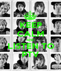 KEEP CALM AND LISTEN TO PTV - Personalised Poster A1 size