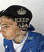 KEEP CALM AND listen to reDstar - Personalised Poster A1 size