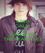 KEEP CALM AND LISTEN TO THE READY SET - Personalised Poster A1 size