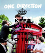 KEEP CALM AND LISTEN TO TMH - Personalised Poster A1 size