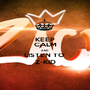 KEEP CALM AND LISTEN TO  Z-KID - Personalised Poster A1 size