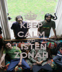 KEEP CALM AND LISTEN ZONAH - Personalised Poster A1 size