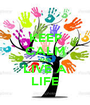 KEEP CALM AND LIVE A LIFE - Personalised Poster A1 size