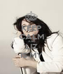 KEEP CALM AND LIZ IS MY - Personalised Poster A1 size