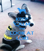 KEEP CALM AND LOOK AT LOKI - Personalised Poster A1 size