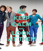 KEEP CALM AND LOOK AT THEM - Personalised Poster A1 size